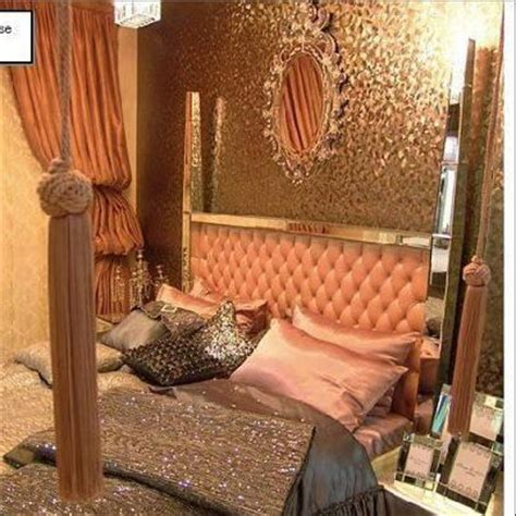 gold walls in bedroom salmon pink and gold bedroom bedroom pinterest gold