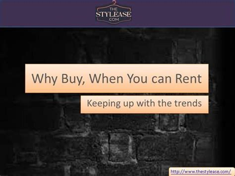 Why Buy Bling When You Can Rent It by Why Buy When You Can Rent Authorstream