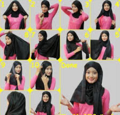 Aneka Jilbab Segi Empat aneka kumpulan tutorial jilbab segi empat