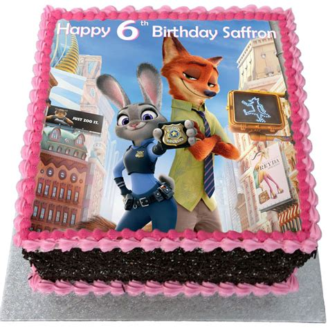 theme song zootropolis zootropolis birthday cake flecks cakes