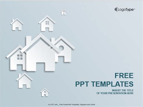 real estate powerpoint template presentationgo com 7 free sle real estate presentation templates