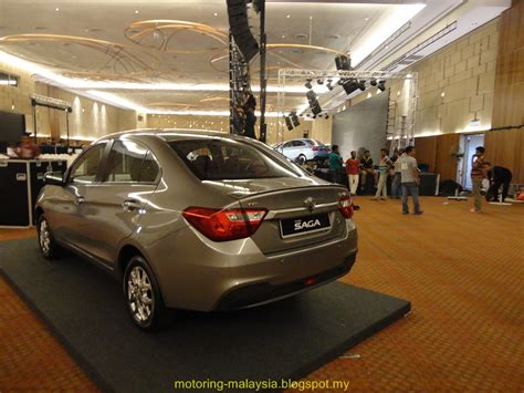 Motoring Malaysia The All New Proton Saga Is Launched