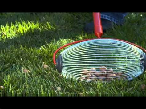 garden weasel nut gatherer pro youtube