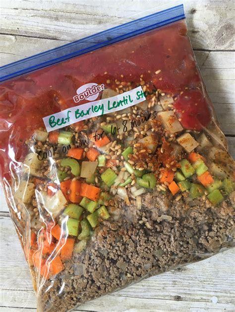Freezer Untuk Frozen Food 10 crock pot freezer meals easy and inexpensive meal prep refresh living