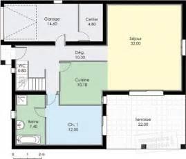plan 195 195 169 tage gratuit maison moderne