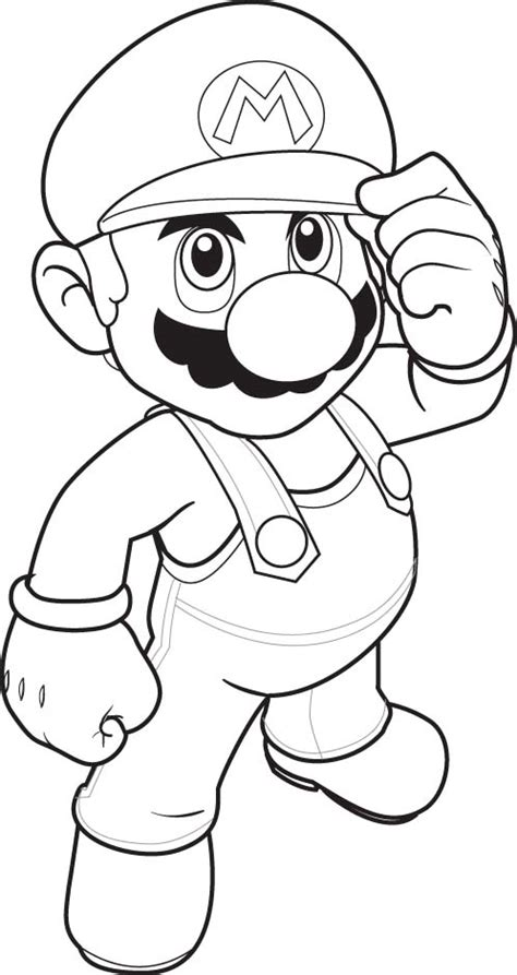 Mario Coloring Pages Printable 9 Free Mario Bros Coloring Pages For Kids Gt Gt Disney by Mario Coloring Pages Printable