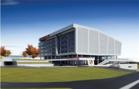 porsche usa headquarters porsche to build u s headquarters in atlanta