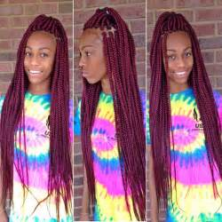 different color braiding hair box braids style inspiration caramel black