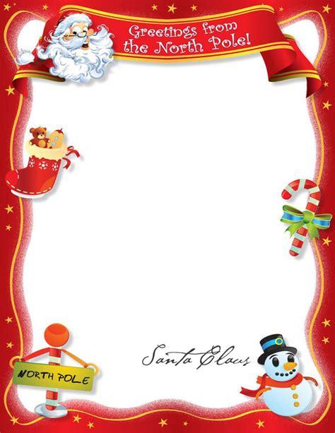 Custom Letter From Santa Custom Letter From Santa Template
