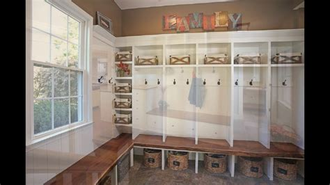 mudroom lockers  bench youtube