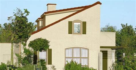 kumpulan ide warna cat rumah bagian luar  desain