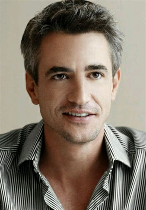 Dermot Mulroney. Gosh, he's handsome   gray hair and all