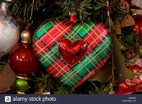 heart shaped christmas tree ornament merry christmas and
