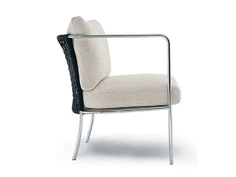 caf 201 garden armchair by living divani design piero lissoni