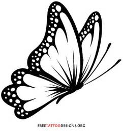 Flying Butterfly Outline by Outline Butterfly Design