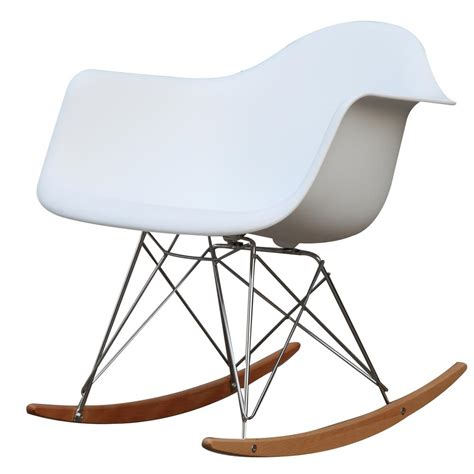 Arm Chair Rocker - white rocker arm chair fmi2013 white the home depot