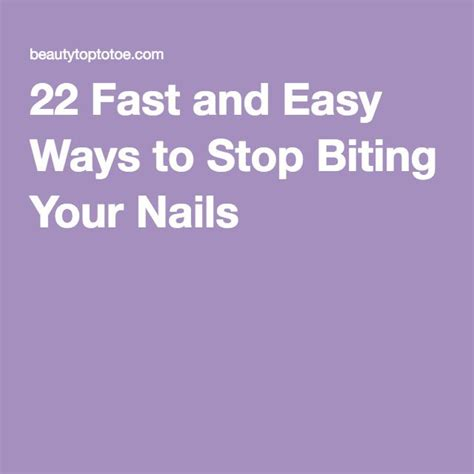 7 Tips To Stop Biting Your Nails by 9 Best Nail Biting Images On Nail Biting Nail