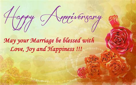 Wedding Anniversary Wishes Words by Happy Wedding Marriage Anniversary Pictures Greeting Cards