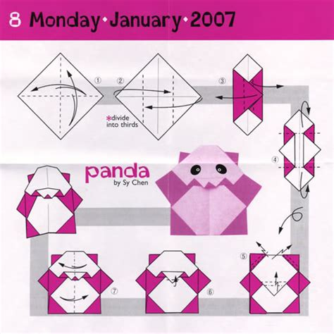 Origami Animals Printable - easy origami cranepanda step by step origami