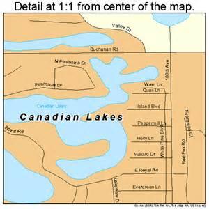 canada lakes map canadian lakes michigan map 2613010