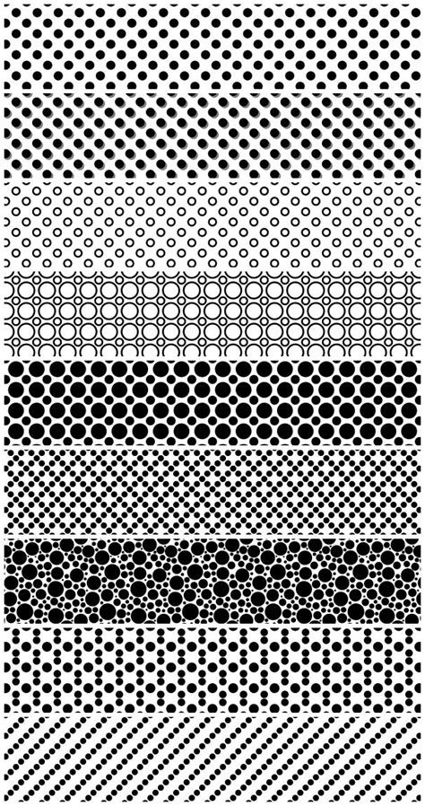 photoshop pattern footprint dotted and pois patterns photoshop free resources for