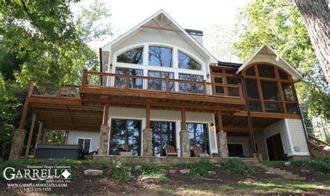 beautiful lake home designs on garrell associates newest