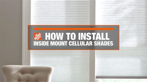 home decorators collection blinds installation instructions how to install inside mount cellular window shades decor how to videos and tips at the home