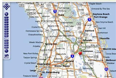map of orlando florida and surrounding cities kissimmee orlando florida area information