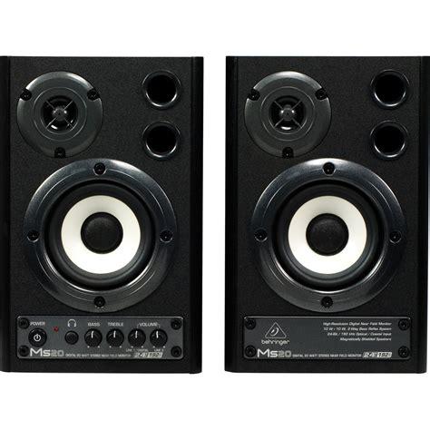 Behringer Ms20 Multimedia Speaker behringer ms20 digital monitor speakers pair at gear4music