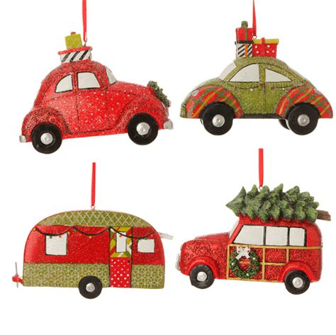 best christmas decirations for car 3507023 raz 4 5 quot automobile tree ornament decoration car green ebay