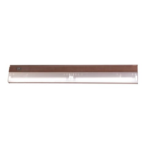 Shop Acclaim Lighting 24 In Hardwired Under Cabinet Cabinet Fluorescent Light