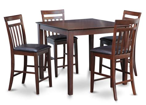 square counter height dining table east west 5 pc square pub counter height table dinette set