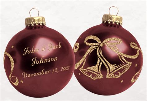 christmas wedding favors christmas ornaments for reception