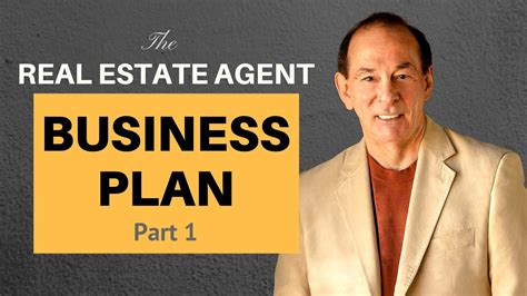 sle business plan real estate agent real estate agent business plan part 1 youtube
