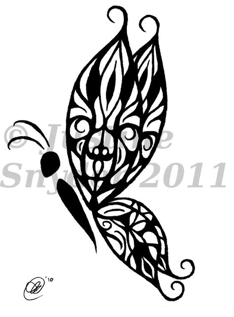 tribal butterfly tattoo meaning tribal butterfly edited by chalupagurl13 on deviantart