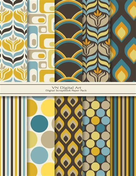 kevinandamanda yellow pattern paper jpg yellow and gray digital scrapbook paper pack