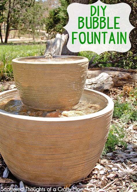 diy backyard fountain 16 diy water feature projects for your home and garden