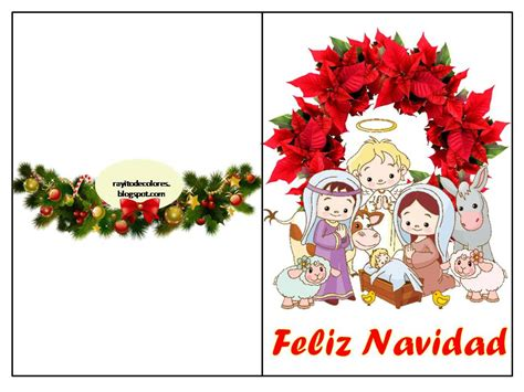 imagenes navideñas para imprimir compartiendo por amor tarjetas navidad para imprimir