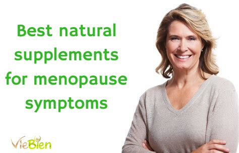 supplement flashes best supplements for menopause symptoms what