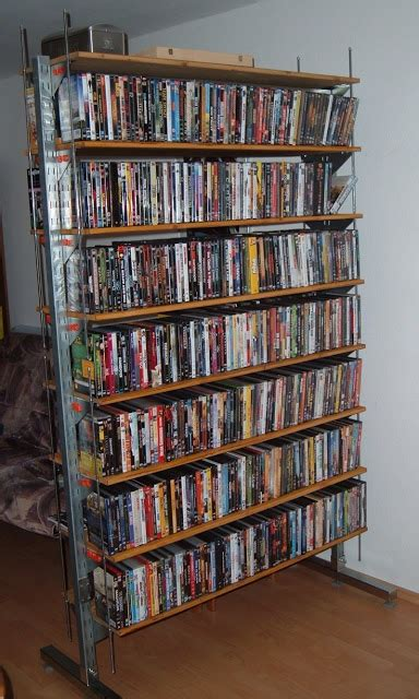 Threaded Rod Bookshelf Broder Dvd Shelf Ikea Hackers Ikea Hackers