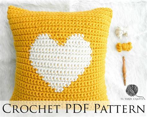 knitting pattern heart pillow one heart pillow crochet throw pillow pattern knit heart