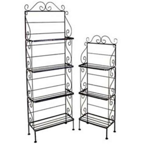 Table Top Bakers Rack Bakers Racks Metal Wood Amp Wrought Iron Bakers Racks
