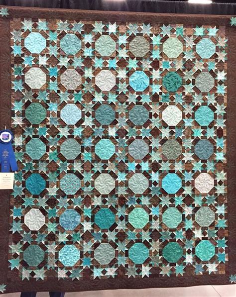 Teal And Brown Quilt by Teal And Brown Scrappy Quilt Quilt Inspiration