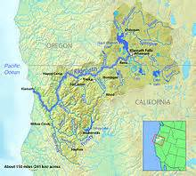 river map california
