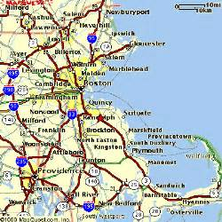 Map Of Boston Suburbs by Boston Area Map Gif Images Frompo