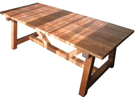 Farmhouse Wood Dining Table Trestle Farmhouse Table Reclaimed Wood Farmhouse Dining Table Farmhouse Dining Tables By