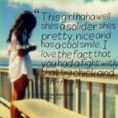 Quotes About A Cool Girl