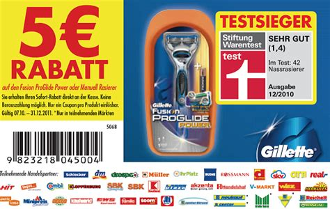 fusion coupon gillette fusion proglide manuell f 252 r 1 36 oder power f 252 r