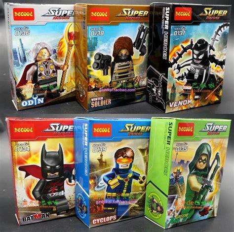 Lego Lele 79115abcd 1 4 Set Chima 6 pcs lot decool heroes building blocks toys batman