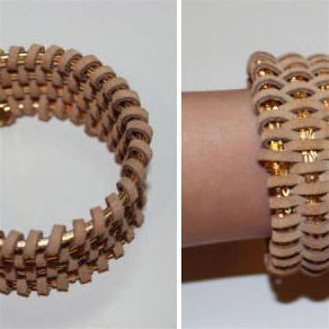 como hacer brazaletes de cuero recicla brazaletes pulseras cuero resultado ideas diy